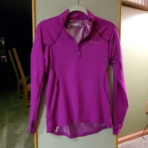 Columbia Small Violet Half-zip